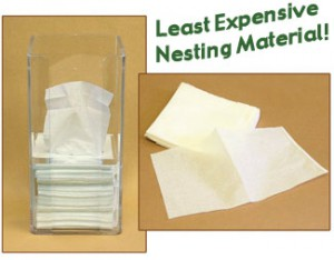 Rodent Nesting Sheets